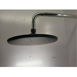 Black Shower Head With An Arm