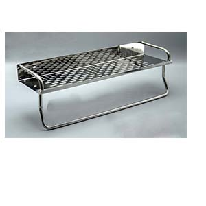 N003 Rectangle Shelf With A Towel Bar
