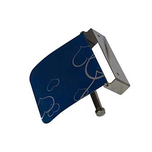 N013 Blue Tissue Holder