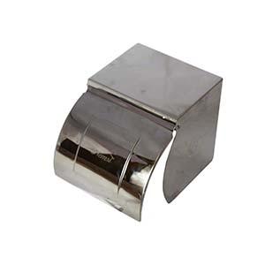 N014M Box Tissue Holder Flat Base -Mirror