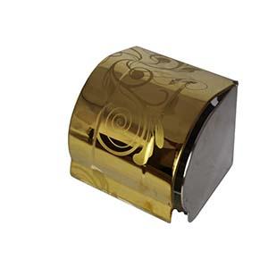 N058-G Box Tissue Holder Gold