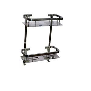N065 Double Rectangle Shelf-35Cm