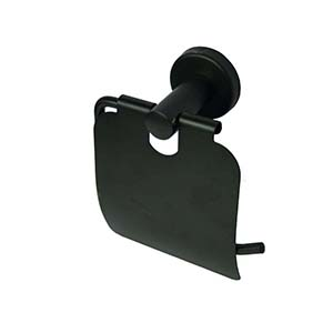 N069 Tissue Holder With Cover -Black