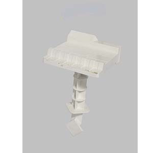 N090 Abs White Plastic Tissue Holders With A Phone Stand