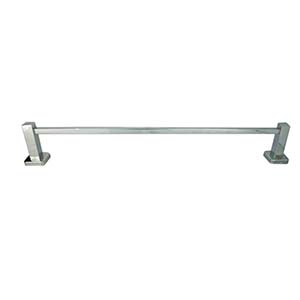N141 (Ss304)Single Towel Bar With Square Tube And Base