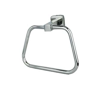 N144 Towel Ring With A Square Base