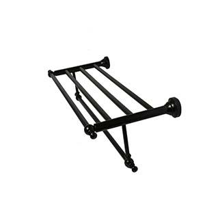 N167 High Density Towel Rack -Black -60Cm