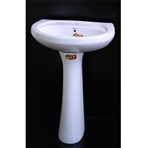 Pedestal Sink White