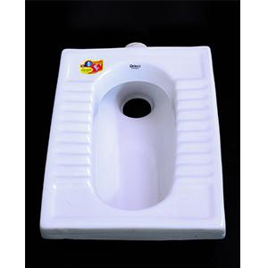 Step Asian Toilet White