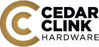 Cedar Clink Hardware Logo