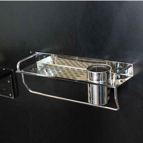 006 Straight shelf with toothbrush holder KSH 1200