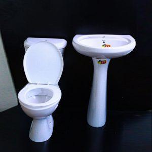 Orient close couple toilet (white) 9500