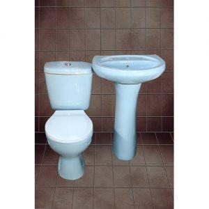 close couple toilet set (blue) KSH 9500