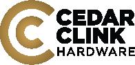 Cedar Clink Hardware